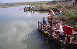 AMHJD1 Crabbing Walberswick Suffolk England
