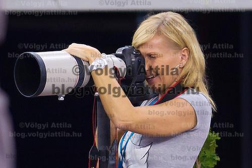 Tennis Classics senior tournament in Budapest, Hungary on October 29, 2011. ATTILA VOLGYI