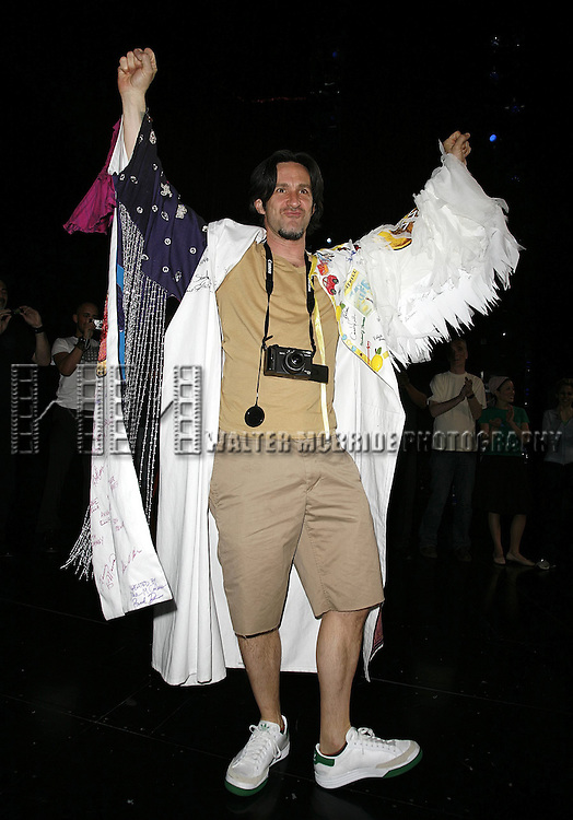 Romain Fruge (Gypsy Robe Winner).Attending the Opening Night Gypsy Robe Ceremony for the Roundabout Theatre Company's Broadway production of THE THREEPENNY OPERA at Studio 54 in New York City..April 20, 2006.© Walter McBride/WM Photography
