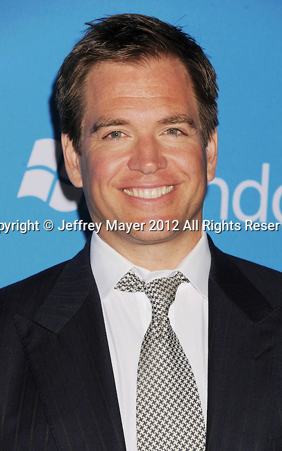 WEST HOLLYWOOD, CA - SEPTEMBER 18: Michael Weatherly arrive at the CBS 2012 fall premiere party at Greystone Manor Supperclub on September 18, 2012 in West Hollywood, California.