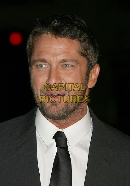"""GERARD BUTLER.""""P.S. I Love You"""" Los Angeles Premiere at Grauman's Chinese Theatre, Hollywood, California, USA,.9 December 2007..portrait headshot.CAP/ADM/RE.©Russ Elliott/AdMedia/Capital Pictures."""