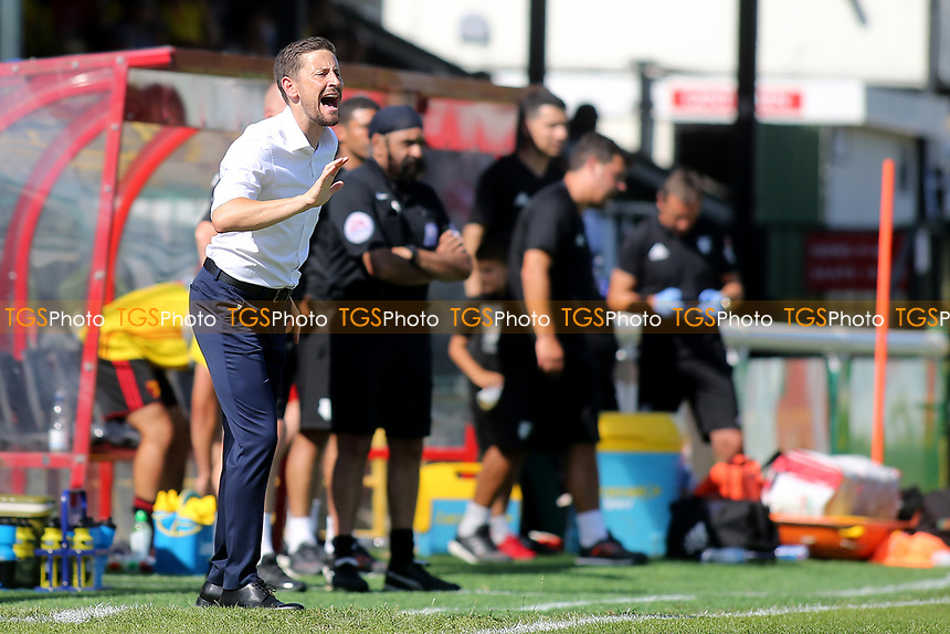 Woking Manager, Anthony Limbrick during Woking vs Watford, Friendly Match Football at The Laithwaite Community Stadium on 8th July 2017