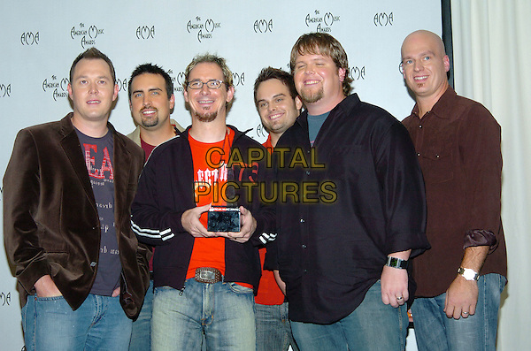 MERCYME - MERCY ME.32nd Annual American Music Awards held at the Shrine Auditorium. .14 November 2004.half length, award, trophy, black top.www.capitalpictures.com.sales@capitalpictures.com.© Capital Pictures.