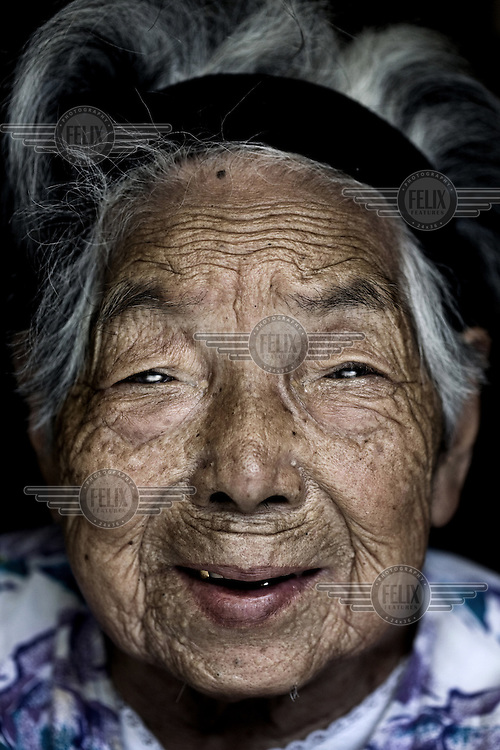 101 year old Higo Iwa According to United Nations statistics, Japan has the World's highest overall life expectancy and the highest for women.