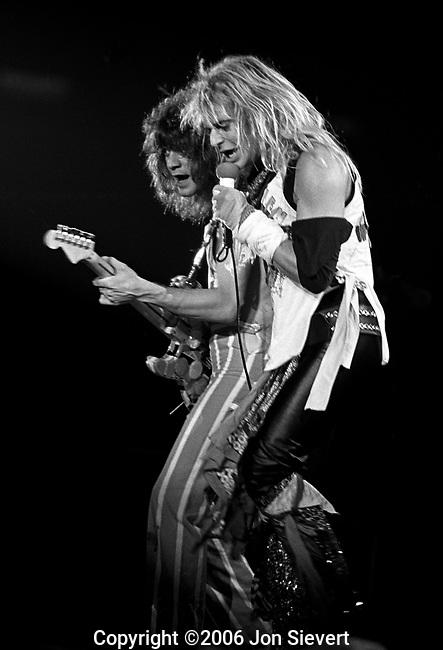 Eddie Van Halen, David Lee Roth.Sept 15, 1982.61-20-15A