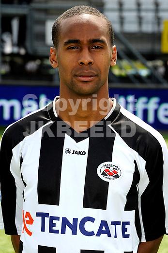 ALMELO - Persdag Heracles Almelo Eredivisie , seizoen 2011-2012, 08-07-2011 Luis Pedro.