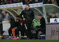Blackpool caretaker manager David Dunn shouts instructions from the technical area <br /> <br /> Photographer Ian Cook/CameraSport<br /> <br /> The EFL Sky Bet League One - Bristol Rovers v Blackpool - Saturday 15th February 2020 - Memorial Stadium - Bristol<br /> <br /> World Copyright © 2020 CameraSport. All rights reserved. 43 Linden Ave. Countesthorpe. Leicester. England. LE8 5PG - Tel: +44 (0) 116 277 4147 - admin@camerasport.com - www.camerasport.com