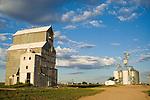 Grain elevators, morning