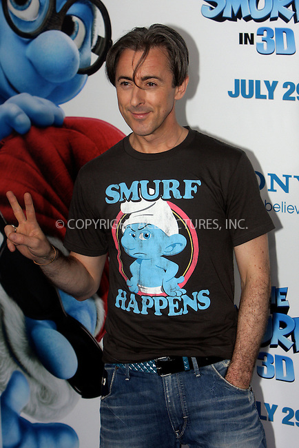WWW.ACEPIXS.COM . . . . .  ....July 24 2011, New York City....Alan Cumming  arriving at the premiere of 'The Smurfs' at the Ziegfeld Theater on July 24, 2011 in New York City. ....Please byline: NANCY RIVERA- ACEPIXS.COM.... *** ***..Ace Pictures, Inc:  ..Tel: 646 769 0430..e-mail: info@acepixs.com..web: http://www.acepixs.com