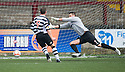 Shire's Kevin Turner scores.