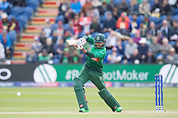 Soumya Sarkar (Bangladesh) plays into the off side during England vs Bangladesh, ICC World Cup Cricket at Sophia Gardens Cardiff on 8th June 2019