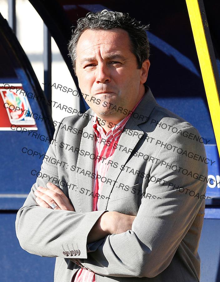 Fudbal Super liga season 2013-2014<br /> Rad v Crvena Zvezda<br /> Head coach Slavisa Stojanovic<br /> Beograd, 10.11.2013.<br /> foto: Srdjan Stevanovic/Starsportphoto &copy;