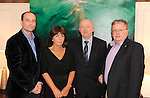 Michael Magnier, Vienna Woods Glanmire, Carmel Whelan and Donie O'Brien, Eno Wine, and Michael Rosney, Killeen House Hotel, Killarney, at the Irish Hotels Federation Conference 'President's Dine Around' event in The  Killarney Park Hotel  on Monday  night. Picture: MacMonagle, Killarney