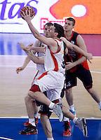 CAI Zaragoza's Sam Van Rossom during Spanish Basketball King's Cup match.February 07,2013. (ALTERPHOTOS/Acero)