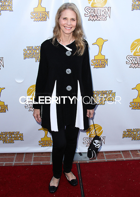 BURBANK, CA, USA - JUNE 26: Actress Lindsay Wagner arrives at the 40th Annual Saturn Awards held at The Castaway on June 26, 2014 in Burbank, California, United States. (Photo by Xavier Collin/Celebrity Monitor)