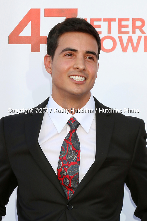 """LOS ANGELES - JUN 12:  Santiago Segura at the """"47 Meters Down"""" Premiere at the Village Theater on June 12, 2017 in Westwood, CA"""