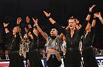 """09.11.2019,  GER; Tanzen, 1. Bundesliga der Lateinformationen, Deutsche Meisterschaften, Finale, im Bild Blau-Weiss Buchholz A mit dem Titel """"A Million Voices"""" Foto © nordphoto/ Witke"""