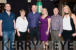 Ger McGillycuddy and Aine Coakley from Killarney celebrated their engagement with John Healy, Cauty Coakley, Gerry Coakley and Rosemarie Healy in the International Hotel, Killarney last Friday night.