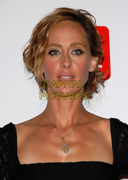 KIM RAVER.The ABC, TV Guide and Warner Bros. Television Presentation of The Nine Screening held at L.A. Center Studios in Los Angeles, California, USA..September 18th, 2006.Ref: DVS.headshot portrait silver necklace.www.capitalpictures.com.sales@capitalpictures.com.©Debbie VanStory/Capital Pictures