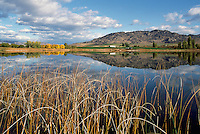 Deadman Lake near Osoyoos, BC, South Okanagan Valley, British Columbia, Canada, Autumn / Fall