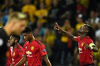 18-09-2018 Berna Football Calcio Champions League BSC Young Boys - Manchester United  <br /> Paul Pogba (R, Manchester) Esultanza Gol 0:1 <br /> (Urs Lindt/freshfocus/Insidefoto)