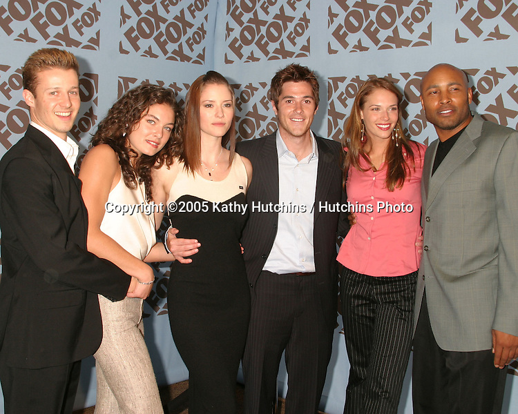 Reunion Cast.Estes, Davalos, Leigh, Annable, Righetti, and StPatrick.Fox TV Upfronts.Boathouse at Central Park.New York City, NY.May 19, 2005.©2005 Kathy Hutchins / Hutchins Photo....