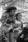 Gary Rossington, Allen Collins, Lynyrd Skynyrd, July 4, 1977; Oakland Colisium.