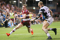 Picture by David Neilson/SWpix.com/PhotosportNZ - 10/02/2018 - Rugby League - Betfred Super League - Wigan Warriors v Hull FC  - WIN Stadium, Wollongong, Australia - Wigan's Dan Sarginson.