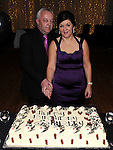 Shirley Ryan celebrating her 50th birthday in the Glenside hotel with husband Aidan. Photo: Colin Bell/pressphotos.ie