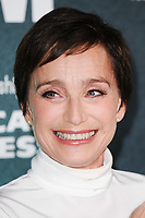 "Kristin Scott Thomas<br /> arriving for the London Film Festival 2017 screening of ""The Party"" at Embankment Gardens Cinema, London<br /> <br /> <br /> ©Ash Knotek  D3330  10/10/2017"