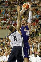 Spain's Pau Gasol (r) and USA's Tyson Chandler during friendly match.July 24,2012. (ALTERPHOTOS/Acero) /NortePhoto.com<br /> **CREDITO*OBLIGATORIO** *No*Venta*A*Terceros*<br /> *No*Sale*So*third* ***No*Se*Permite*Hacer Archivo***No*Sale*So*third*©Imagenes*con derechos*de*autor©todos*reservados*.