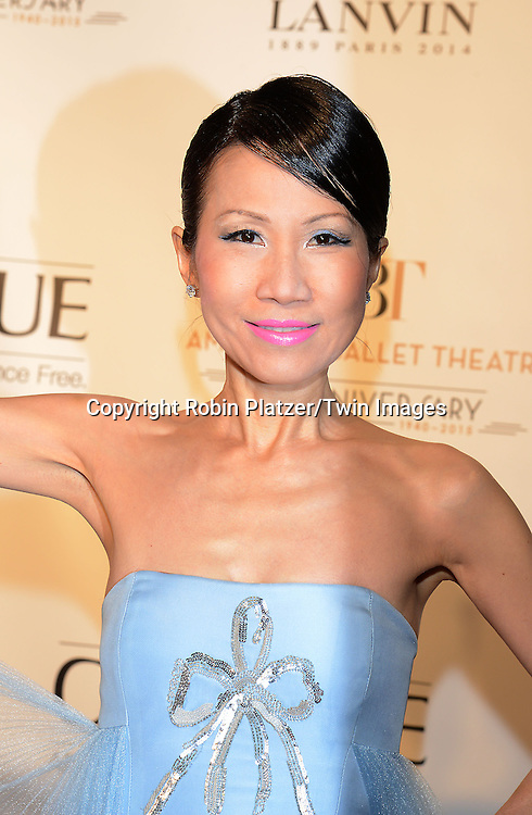 Chiu ti Jansen attends the Opening Night of American Ballet Theatre 2014 Fall Gala on October 22,2014 at the David Koch Theater at Lincoln Center in New York City. <br /> <br /> photo by Robin Platzer/Twin Images<br />  <br /> phone number 212-935-0770