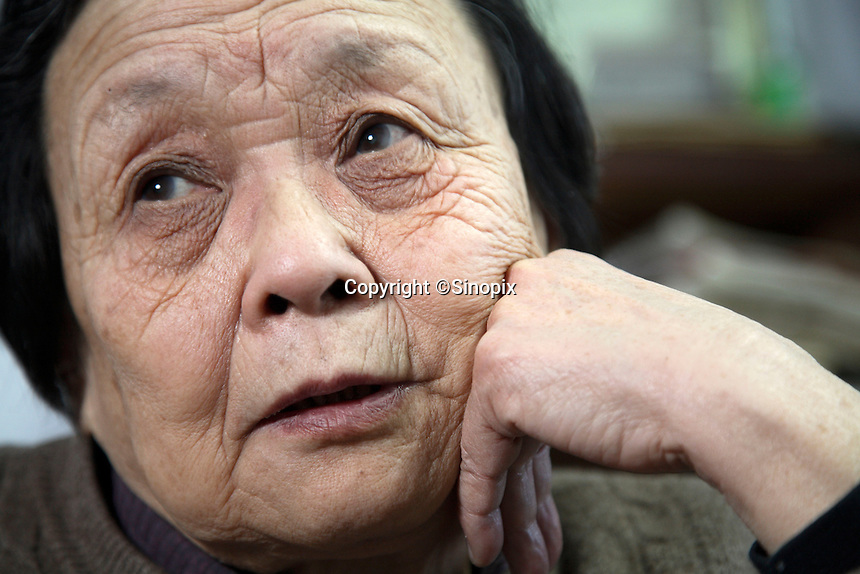 Gao Yaojie, AIDS activist and winner of various awards, photographed at her home in Zhengzhou, China on 10 February, 2008.