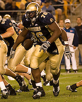 02 September 2006: Pitt offensive tackle Jeff Otah (76)..The Pitt Panthers defeated the Virginia Cavaliers 38-13 on September 02, 2006 at Heinz Field, Pittsburgh, Pennsylvania.