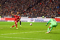 goal, Tor zum 0:1 für Franck Ribery (FC Bayern Muenchen) - 22.12.2018: Eintracht Frankfurt vs. FC Bayern München, Commerzbank Arena, DISCLAIMER: DFL regulations prohibit any use of photographs as image sequences and/or quasi-video.
