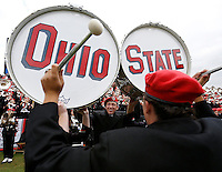 The Ohio State Marching band performs during the second half of the NCAA football game at Ross-Ade Stadium in West Lafayette, IN on Saturday, November 2, 2013. (Columbus Dispatch photo by Jonathan Quilter)