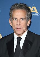 02 February 2019 - Hollywood, California - Ben Stiller. 71st Annual Directors Guild Of America Awards held at The Ray Dolby Ballroom at Hollywood & Highland Center. Photo Credit: F. Sadou/AdMedia