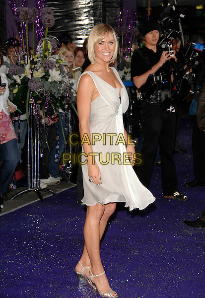 JENNI FLACONER.Arrivals at the British Soap Awards 2007,.BBC Television Centre, London, England, .May 26, 2007..full length beige cream white dress jenny.CAP/PL.©Phil Loftus/Capital Pictures