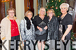 Anna Douglas, Bernie Roche, Ann McGinley, Regina Roche, Ena Healy enjoying a family Christmas party at the Imperial Hotel on Saturday