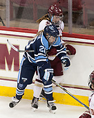Morgan Sakundiak (Maine - 20), Kali Flanagan (BC - 10) - The Boston College Eagles defeated the visiting University of Maine Black Bears 2-1 on Saturday, October 8, 2016, at Kelley Rink in Conte Forum in Chestnut Hill, Massachusetts.  The University of North Dakota Fighting Hawks celebrate their 2016 D1 national championship win on Saturday, April 9, 2016, at Amalie Arena in Tampa, Florida.