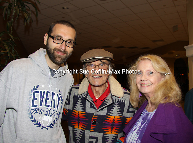 Mark Drexler & Larry Storch (F Troop) and Elizabeth Shepherd (All My Children) at Chiller Theatre - Toy, Model and Film Expo was held over the weekend - October 27, 2013 at the Sheraton Hotel, Parsippany, New Jersey -  (Photo by Sue Coflin/Max Photos)