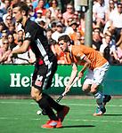 BLOEMENDAAL   - Hockey -  2e wedstrijd halve finale Play Offs heren. Bloemendaal-Amsterdam (2-2) . A'dam wint shoot outs. Sander 't Hart (Bldaal).  COPYRIGHT KOEN SUYK