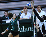 Tulane vs. UAB (Volleyball 2010)