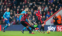 Jordon Ibe of AFC Bournemouth hits a shot at goal during the Premier League match between Bournemouth and Arsenal at the Goldsands Stadium, Bournemouth, England on 14 January 2018. Photo by Andy Rowland.