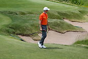 June 14th 2017, Erin, Wisconsin, USA; Rory McIlroy walks to the 14th tee during the practice round for the 117th US Open on June 14, 2017 at Erin Hills in Erin, Wisconsin