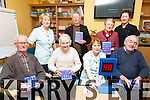 Alternative Therapy week at Castleisland Day Care Centre on Friday pictured Front l-r Vincent Cronin, Pauline Cronin, Sheila McGuire, Carer, Michael McAuliffe, Back l-r  Rita McCarthy, Carer, William O'Connor, Joan Fitzgerald, Noreen Gayney