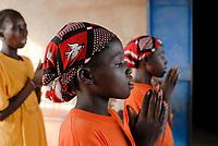 BURKINA FASO, Kaya, aid project of catholic church for forced married girls in Boken / Hilfsprojekt der katholischen Kirche fuer zwangsverheiratete Maedchen in Boken