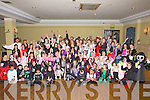 REVOULATION: Hipp Hopping in their Holloween Fancy Dress were the children from Reveloulation Dance School, in The Abbey Gate Hotel, Tralee on Friday night................... ....................