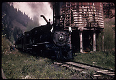 RGS #20 at Deep Creek water tank with RMRRC excursion.<br /> RGS  Deep Creek, CO  5/30/1947