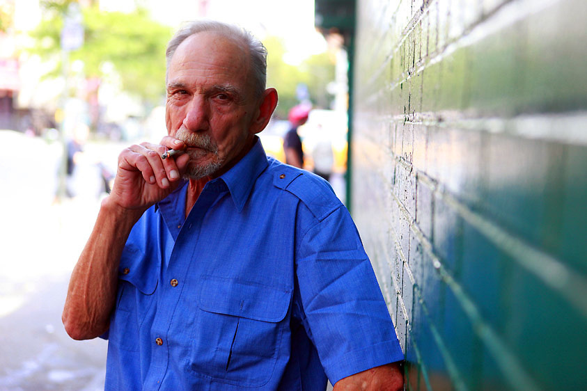 Henry Hill outside of the Gangster Museum in the East Village, New York City on Thursday, July 23, 2010.  Hill, 68, is a former American mobster, Lucchese crime family associate, and FBI informant whose life was featured in the book Wiseguy, written by crime reporter Nicholas Pileggi, and the 1990 Martin Scorsese film Goodfellas.